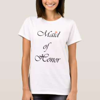 T-shirt Manuscrit de ~ de Domestique-de-Honneur