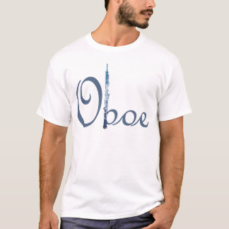 T-shirt Manuscrit de hautbois