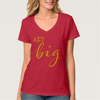 T-shirt Manuscrit de Tau d'alpha sigma grand