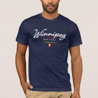 T-shirt Manuscrit de Winnipeg