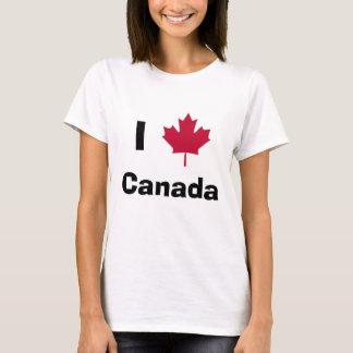 T-shirt mapleleaf, Canada