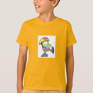 T-shirt Marais Mort la lame de rouleau de grenouille