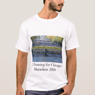 T-shirt Marathon de Chicago