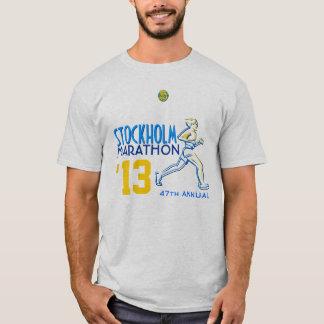 T-shirt Marathon Suède de Stockholm