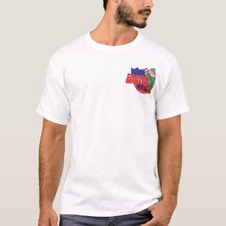 T-shirt Marchandises d'équipe de BBQ d'artillerie de