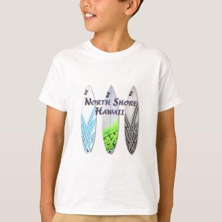 T-shirt Marchandises du nord d'Hawaï de rivage