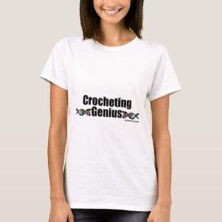 T-shirt Marchandises faisantes du crochet d'ADN de génie