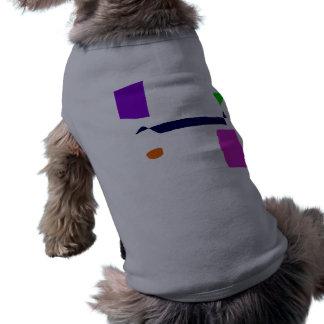 T-shirt Marchant un chien