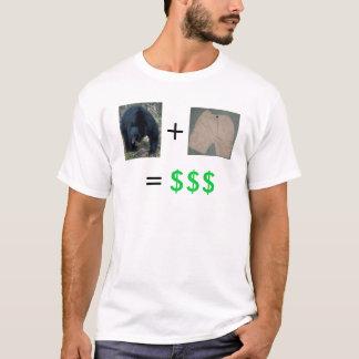 T-shirt Marché à la baisse + Court-circuiter = bénéfice