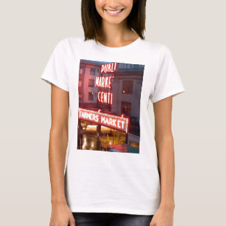 T-shirt Marché de place de Pike