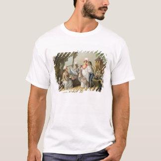T-shirt Marché de toile, Roseau, Dominique, c.1780
