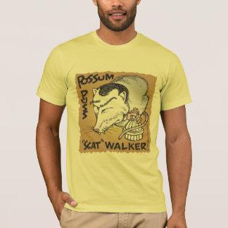 """T-shirt Marcheur de """"chat d'opossum"""" de Scott"""