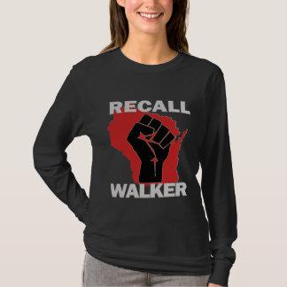 T-shirt Marcheur de rappel du Wisconsin
