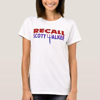 T-shirt Marcheur de Scott de rappel