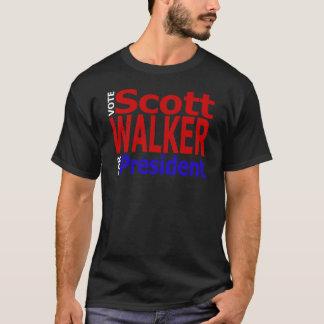 T-shirt Marcheur de Scott de vote pour le président
