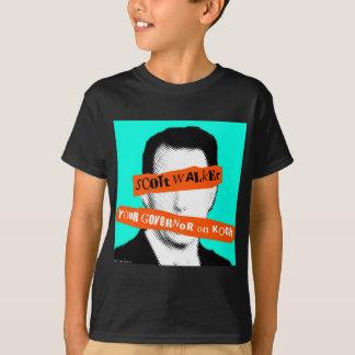 T-shirt Marcheur de Scott votre gouverneur sur Koch