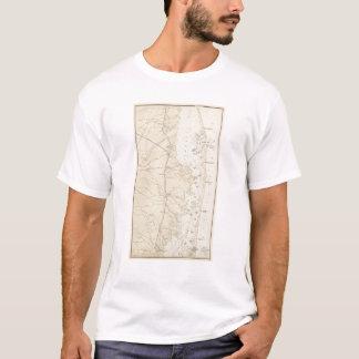 T-shirt Marchez la baie de Barnegat de section à la carte