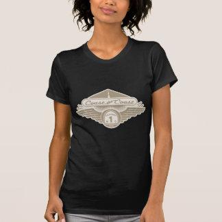 T-shirt Marchez la côte