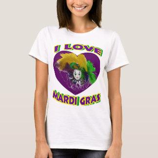 T-shirt Mardi gras d'amour