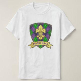 T-shirt Mardi gras de motif de mardi gras