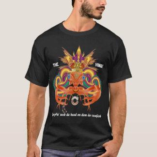 T-shirt Mardi gras d'écrevisses que le roi du DA regardent