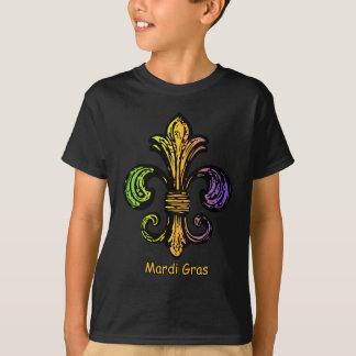 T-shirt Mardi gras Fleur de lis