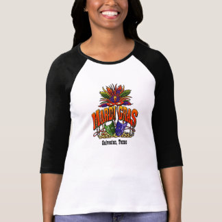 T-shirt Mardi gras Galveston le Texas