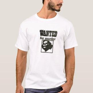 T-shirt Margaret Thatcher - voulue pour le meurtre