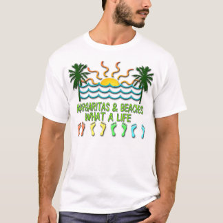 T-shirt Margaritas et plages