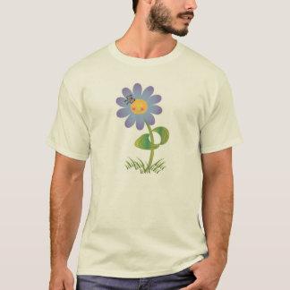 T-shirt Marguerite de sourire avec le papillon