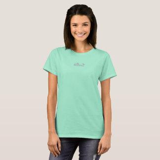 T-shirt Marguerite difficile de rose de pièce en t de