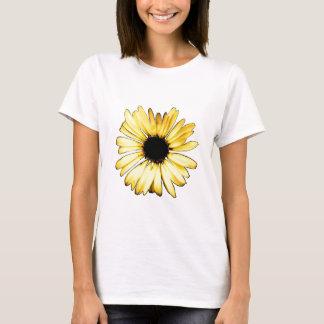 T-shirt Marguerite jaune Artsy de Gerbera