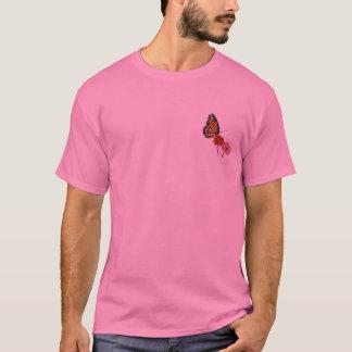 T-shirt Marguerite rose, chemise de monarque