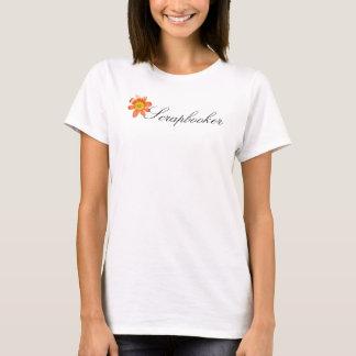 T-shirt Marguerite, Scrapbooker