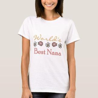 T-shirt Marguerites et mondes meilleure Nana de roses