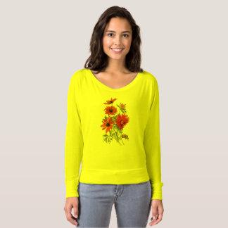 T-shirt Marguerites Flowy botanique outre de chemise