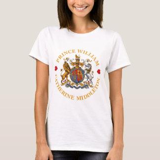 T-shirt Mariage de prince William et Catherine Middleton