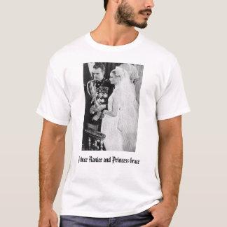 T-shirt Mariage royal, prince Ranier et princesse Grace