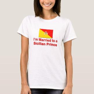 T-shirt Marié à un prince sicilien