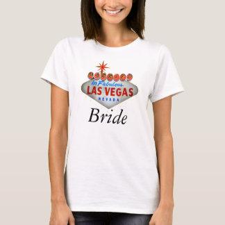 T-shirt Marié dans la chemise de la jeune mariée de Las