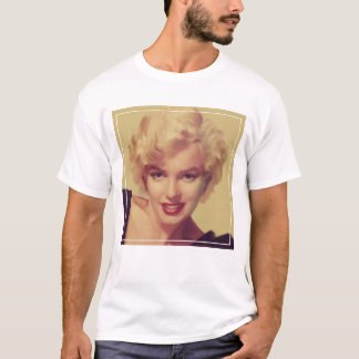 T-shirt Marilyn dans le noir