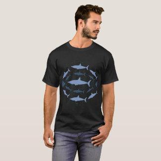 T-shirt marin d'art de biologie de requin de Mako