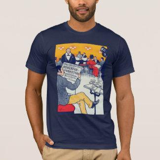 T-shirt Marine d'annonce de Pøster