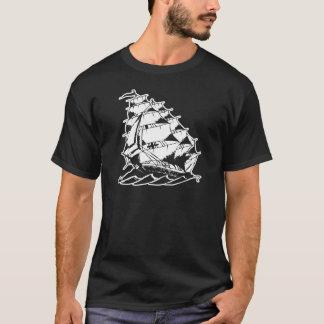 T-shirt Marine de bateau de navigation de tatouage d'Olds