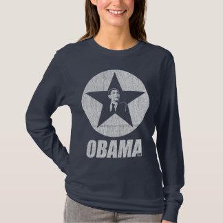 T-shirt Marine d'étoile d'Obama