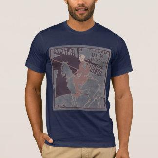 T-shirt Marine d'inv de Don Q de salle de conférence