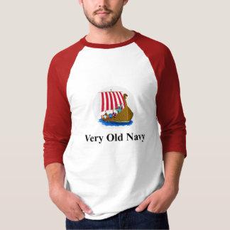 T-shirt Marine très vieille