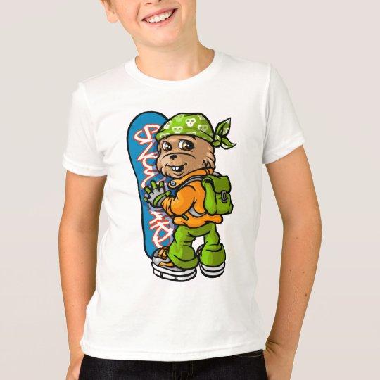 T-shirt marmot and bandana