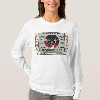 T-shirt Marque de canneberges de Cape Cod Harvard Eatmor