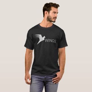T-shirt Marque de Cryptocurrency d'ailes